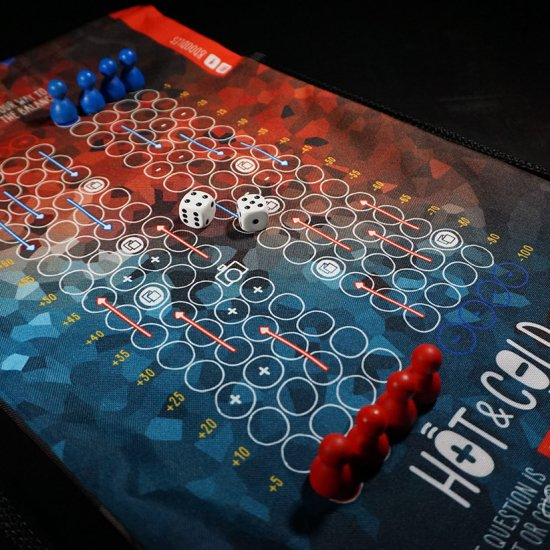 hot and cold - board game for two