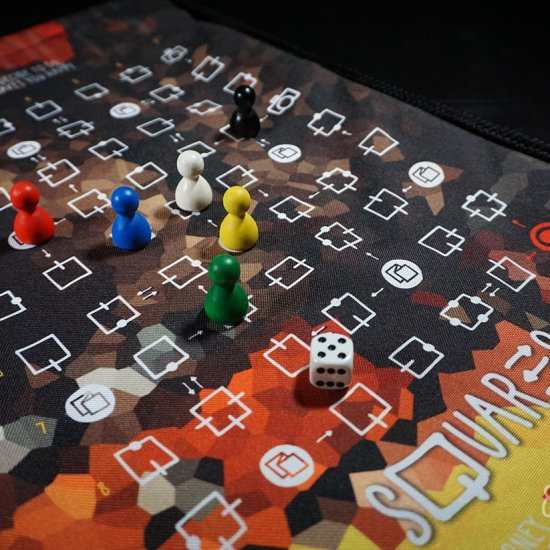squares - board games with printable templates